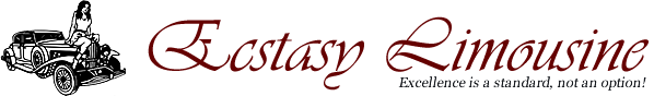 Ecstacy Limousine - Let Ecstacy Limousine Escort you to Paradise!